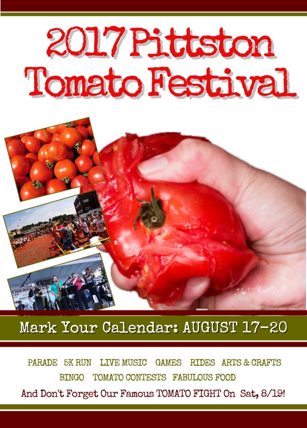 pittston 2017 tomato festival