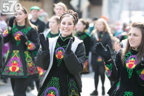 Irish Dancers In The Pittston St. Patricks Day Parade